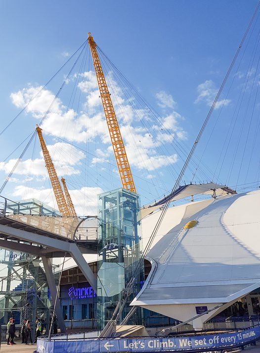 View of the O2