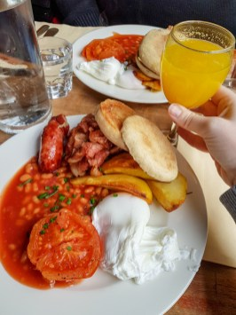 Full English Breakfast - The Bottle Shop, Paris