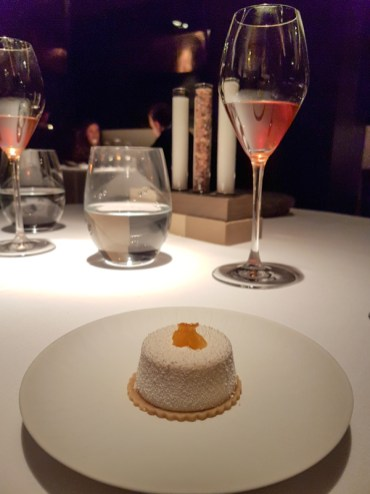 Cheesecake with Orange - - Cinq Sentitis, Barcelona