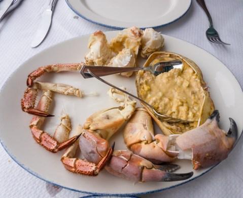 Crab Plate -- La Rampa, San Sebastian