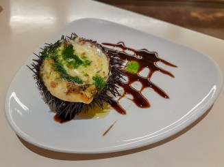 Tapa of Sea Urchin -- San Sebastian