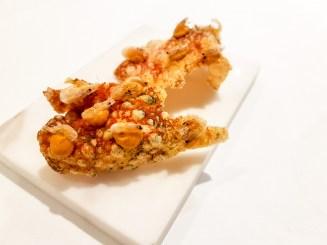 Shrimp Crackers -- Blueizar, Bilbao, Spain