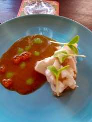 Ceviche -- fundraiser dinner for suicine prevention in honor of Anthony Bourdain, Amsterdam, Netherlands