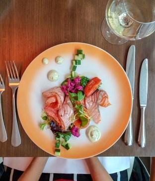 Salmon Salad -- Roots, Rotterdam, Netherlands