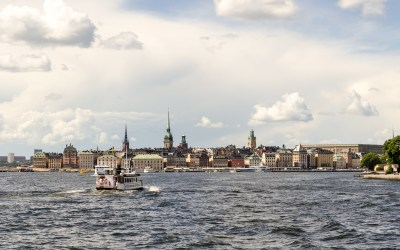 Stockholm boat - with the Stockholm Pass