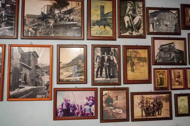 family photos in Sardinia