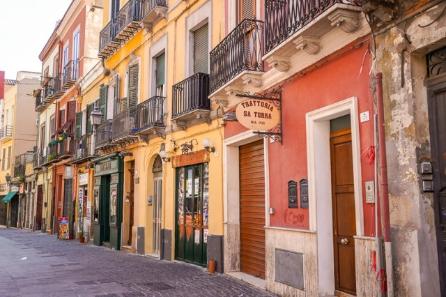 Cagliari street