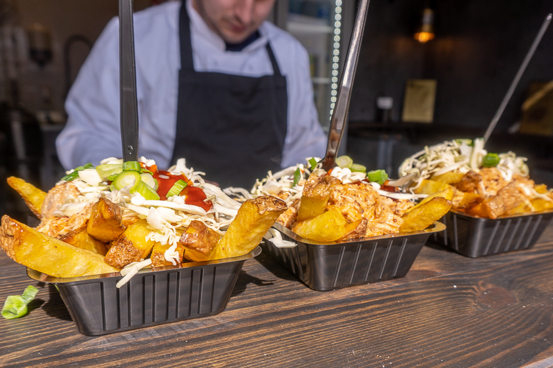 Flemish fries on the food tour