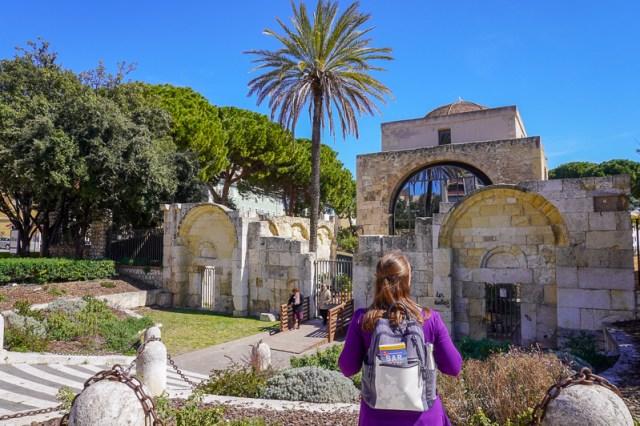 Jess at Basilica of San Saturnino