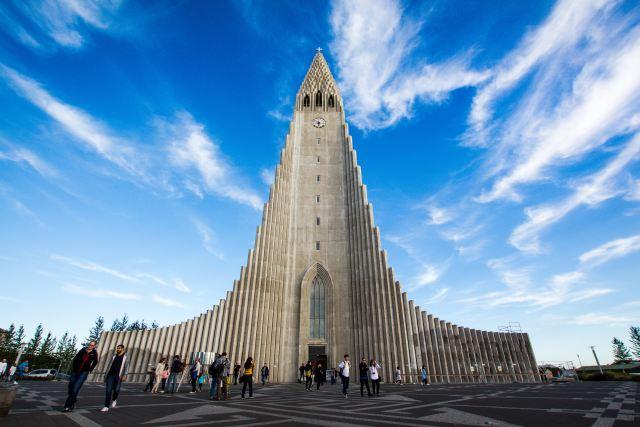 Cathedral in Reykjavik