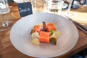 restaurant dijks salmon dish