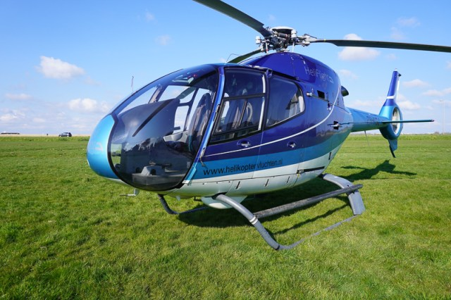 Helicopter tour in Holland
