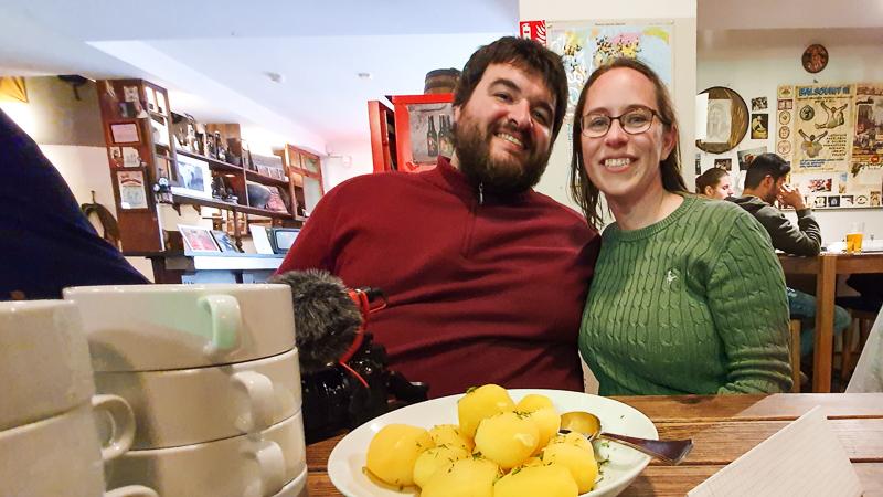 Sean & Jess Vilnius Food Tour