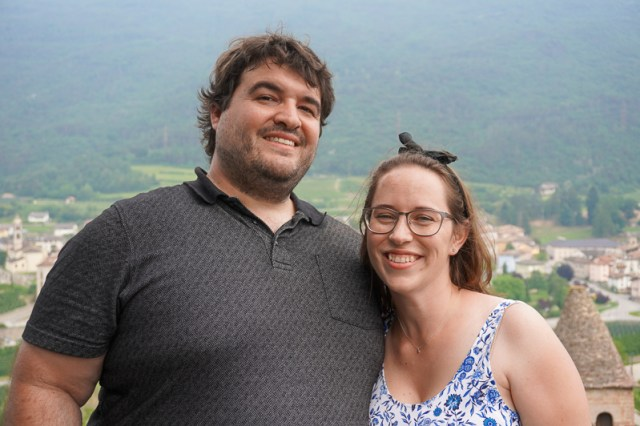 Sean and Jess in Trentino