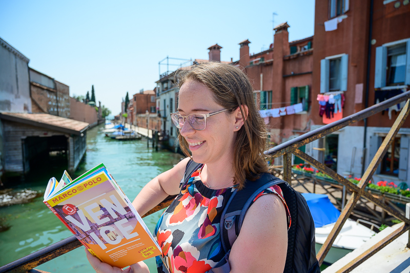 Walking tour of Venice, Italy