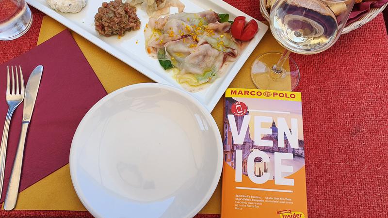 Lunch on Giudecca