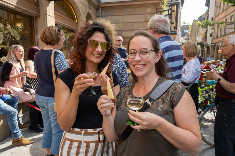 wine and cheese tasting in strasbourg