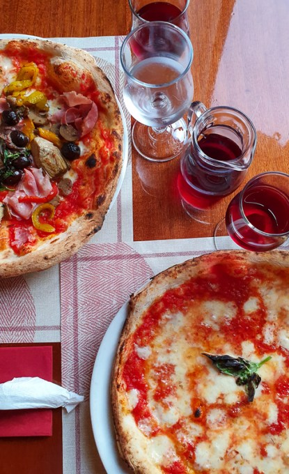 Pizza in Sant Angelo