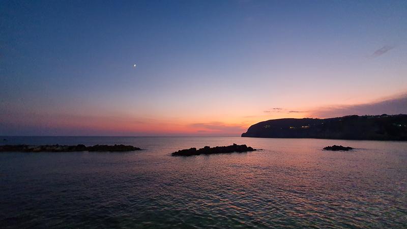 Sunset in SantAngelo