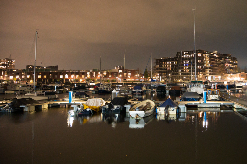Eastern Docklands at night
