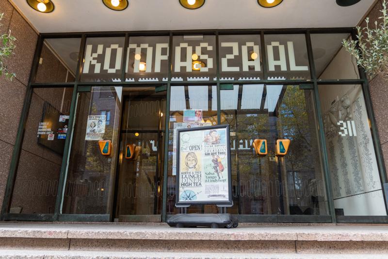 Entrance to de Kompaszaal