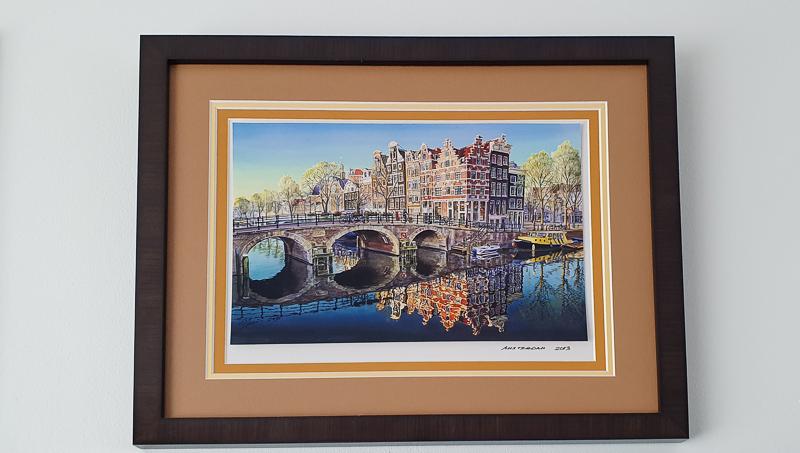 Local Amsterdam art