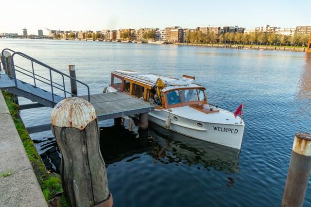 Rederij de Jordaan at the Lloyd Hotel dock