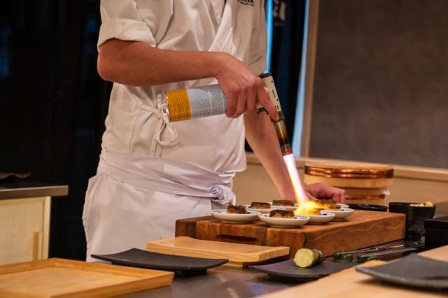 Chef Alvin at Koizen