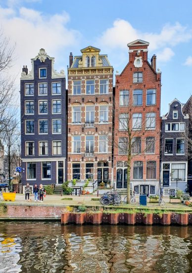 Herengracht canal houses