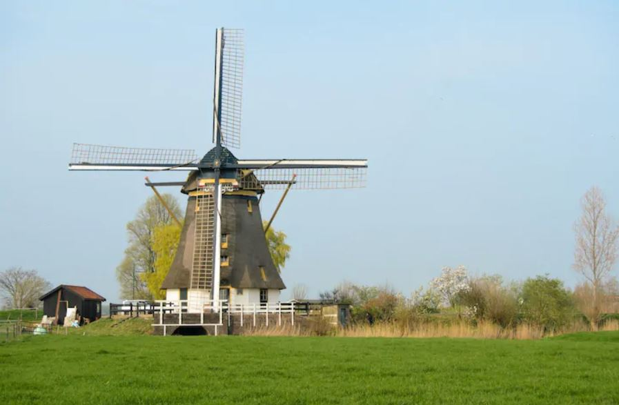 Windmill near amsterdam - a unique accommodation