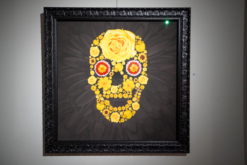 Flower art museum piece