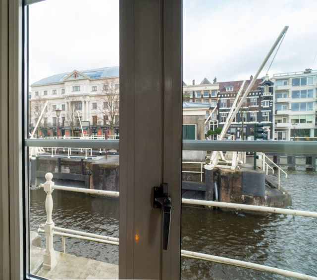 View of Carre from bridge house