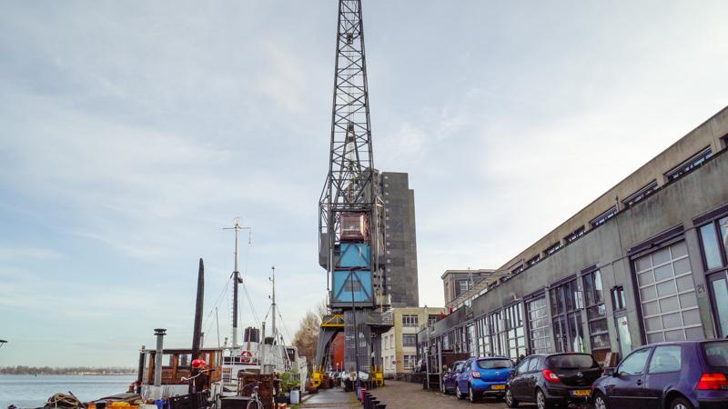 YAYS crane hotel suite Amsterdam