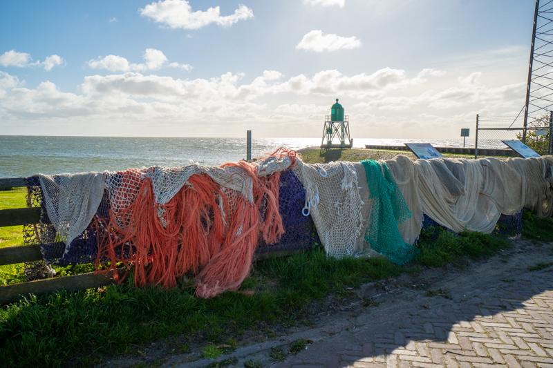 fishing nets in Stavoren