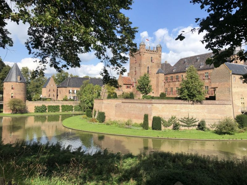 Castle image with moat