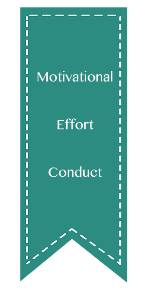 Motivational, Effort, Conduct