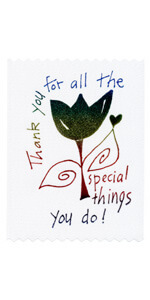 Thank you for all the special things you do!
