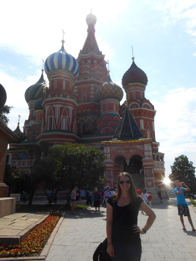Traveling solo in Moscow, Russia