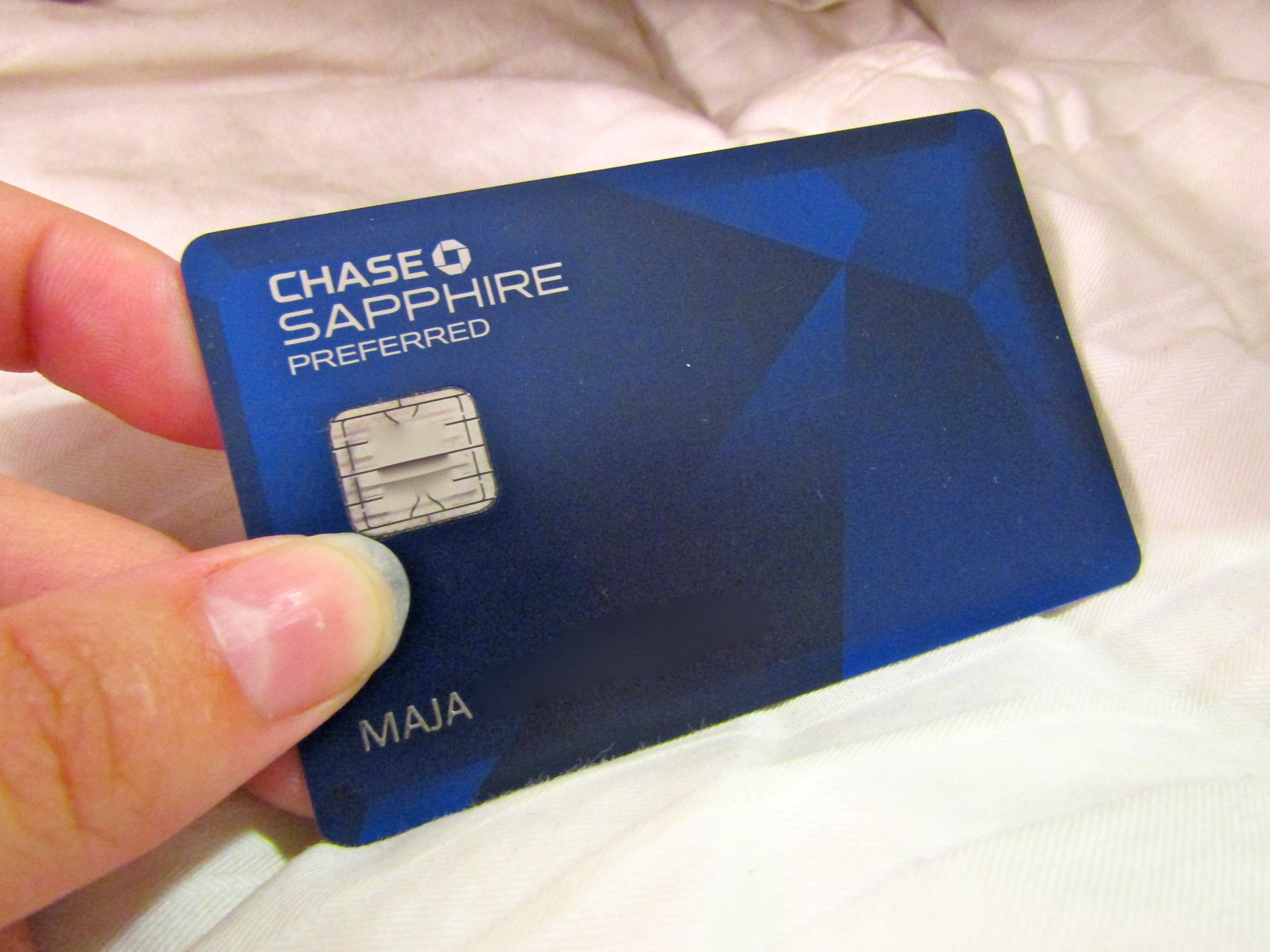 Review: Chase Sapphire Preferred Credit Card (Or, How I Went To