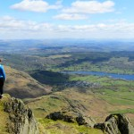 Hiking The Old Man Of Coniston In The Lake District