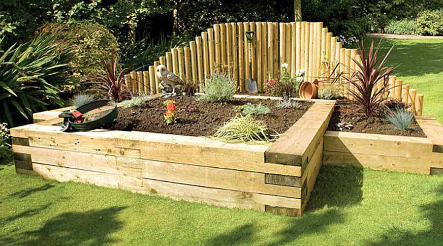 How Make Raised Garden Trough