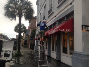 Charleston Awning Pressure Washing