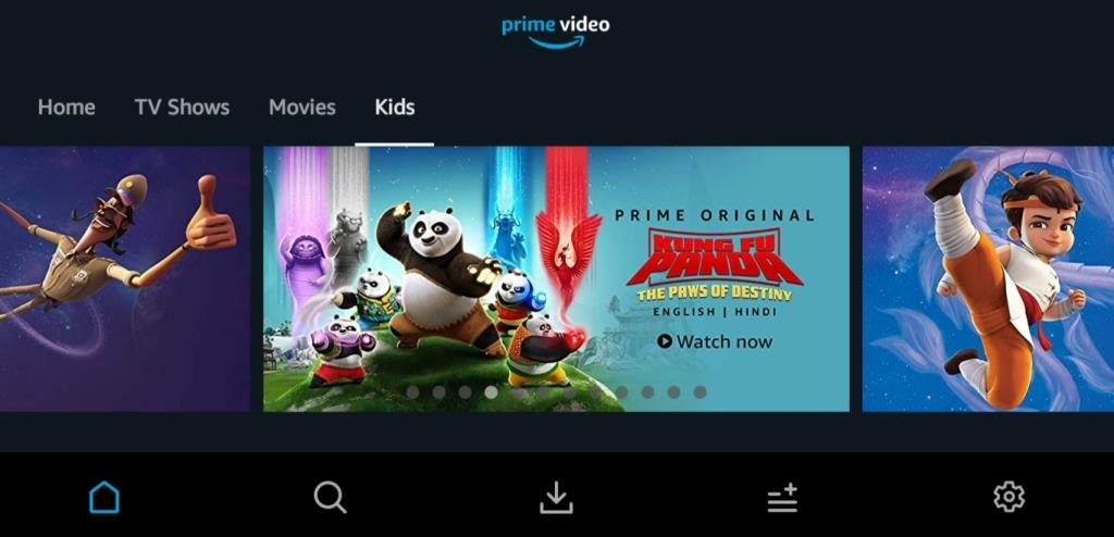 Watch animation latest animation series in Amazon prime skillanime