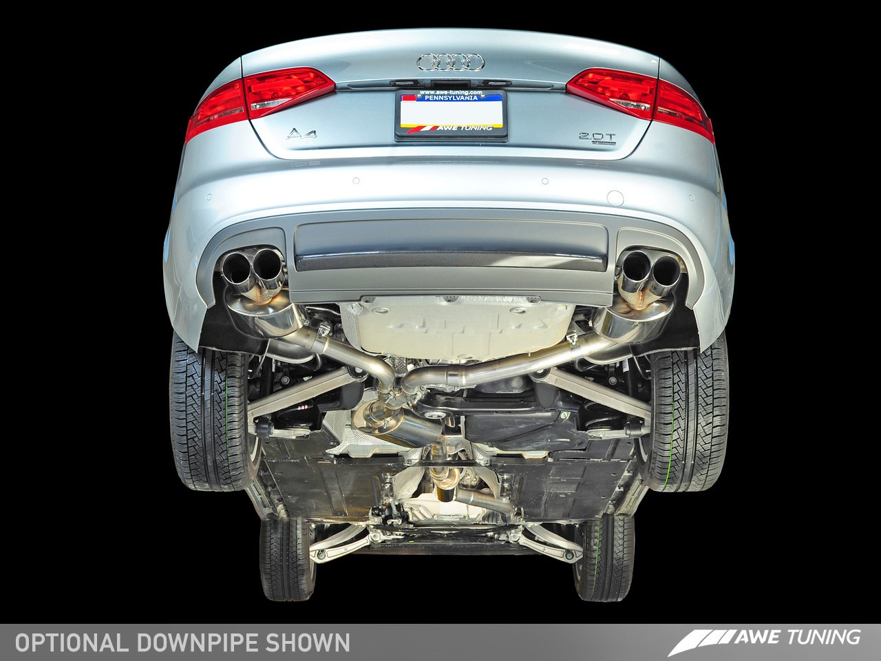 awe touring edition exhaust and