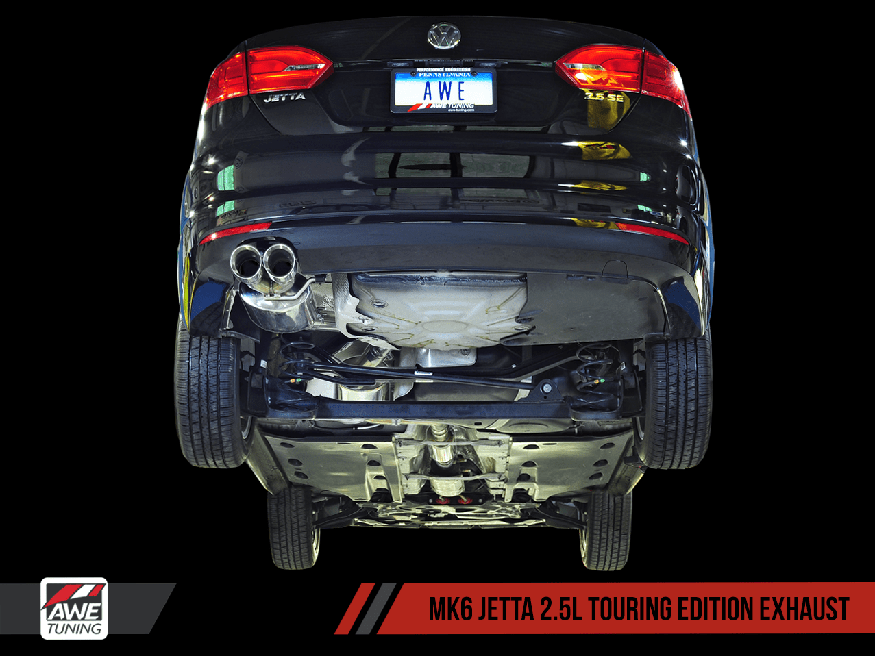 awe exhaust suite for mk6 jetta 2 5l awe