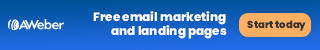 Free email marketing and landing pages with AWeber