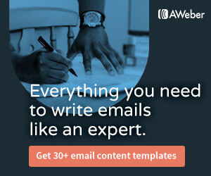 Get more than 30 email content templates