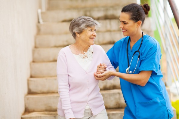 caregiver for patients with parkinson