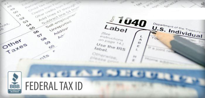 Federal Tax ID