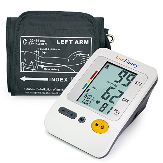 LotFancy Digital Arm Blood Pressure Monitor